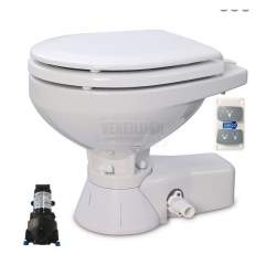 Jabsco sähkö WC QUIET TOILET Regular 12V Merivesi